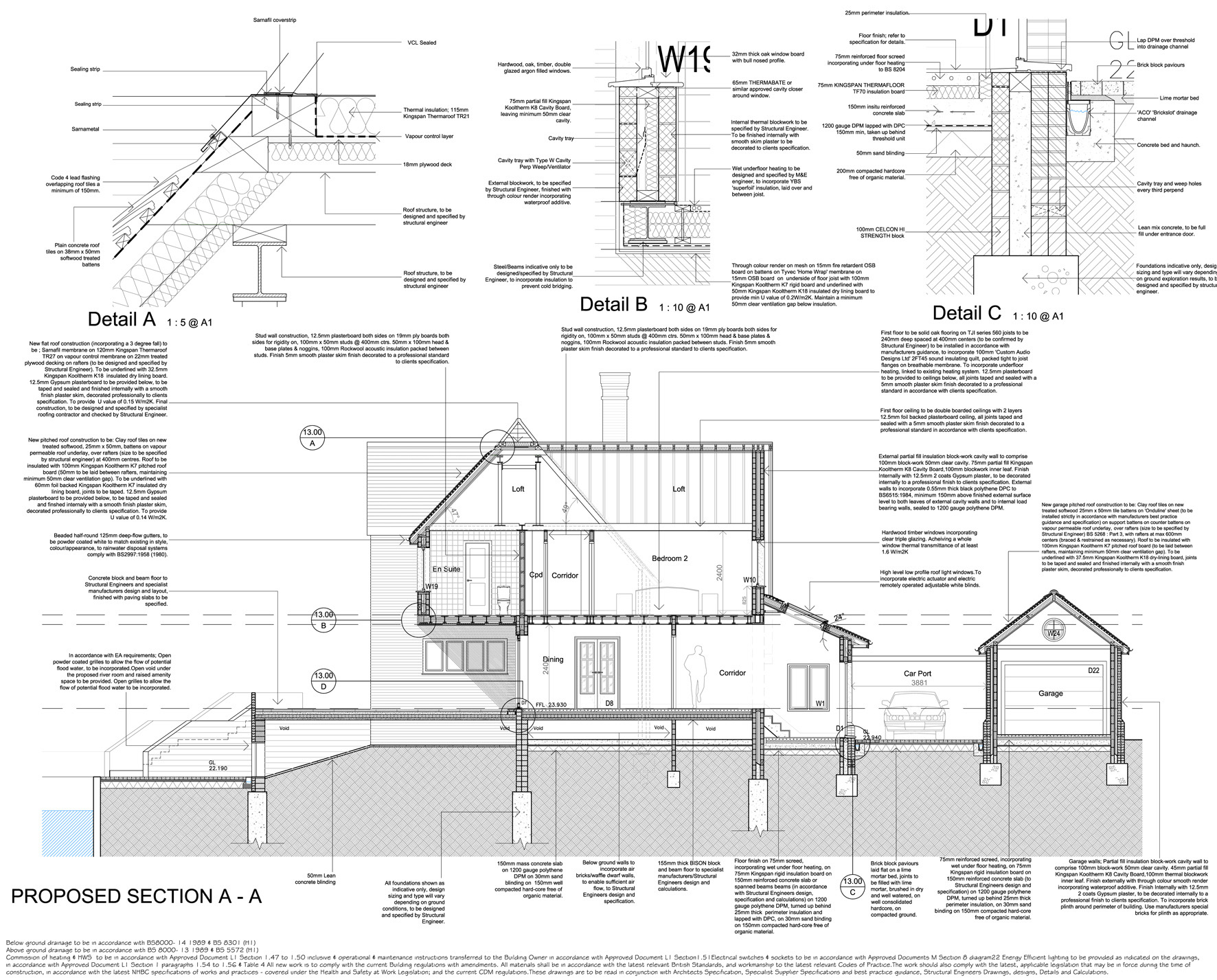 River House Tender Drawings